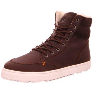 Hub Sneaker HighDublin braun