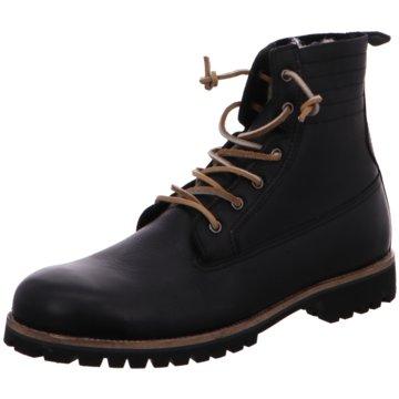 Blackstone SchnürbootMid Lace Up Boot schwarz