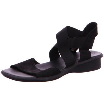 Arche Komfort Sandale schwarz