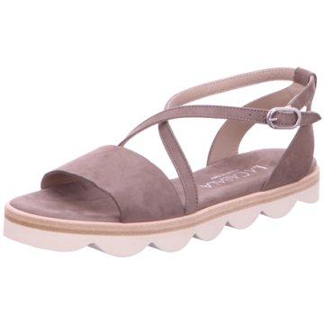La Cabala Top Trends Sandaletten grau