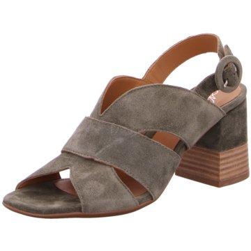 Alpe Woman Shoes Riemchensandalette grün
