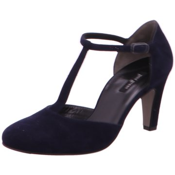 Paul Green T-Steg Pumps blau