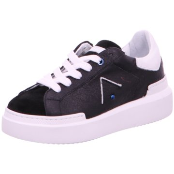 Ed Parrish Plateau Sneaker schwarz