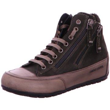 Candice Cooper Sneaker High grün