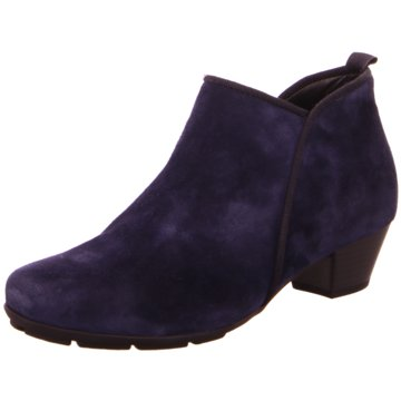 Gabor Komfort Stiefelette blau