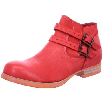 Schuhmann's Handwerkskultur Ankle Boot rot