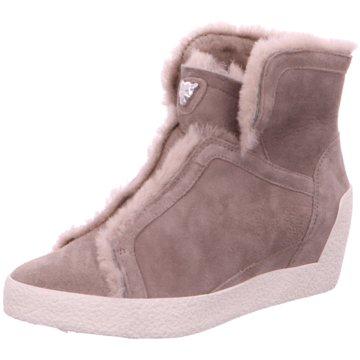 Marc Cain Sneaker Wedges grau
