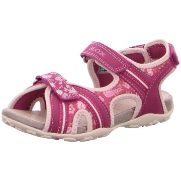 Geox Offene Schuhe rot
