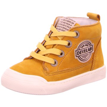 Develab Sneaker High gelb