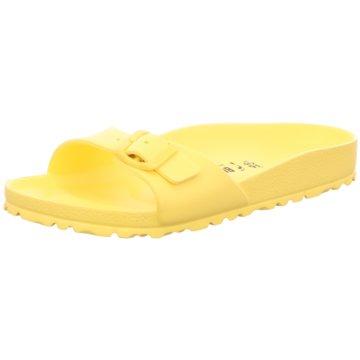 Birkenstock Badelatsche gelb