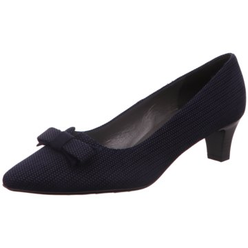 Peter Kaiser Pumps blau