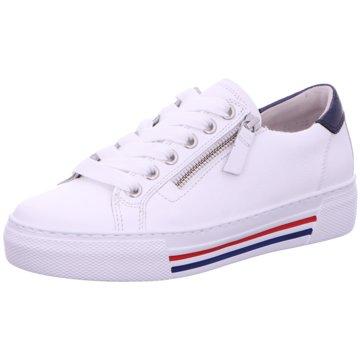Gabor Sportlicher SchnürschuhSneaker weiß