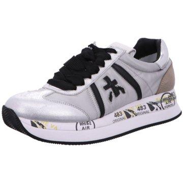 Premiata Plateau Sneaker grau