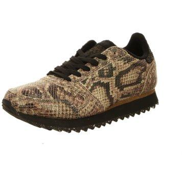 Woden Sneaker Low braun