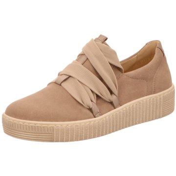 Gabor Sneaker LowSlipper beige