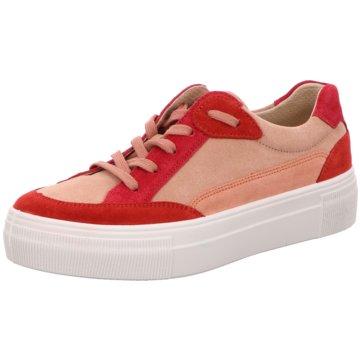 Legero Plateau SneakerLima rot