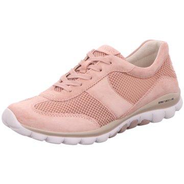 Gabor Komfort Schnürschuh rosa