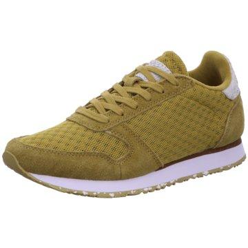 Woden Sneaker Low oliv