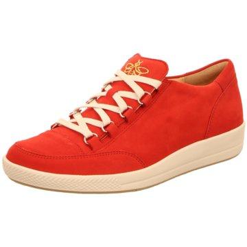 Ganter Sportlicher Schnürschuh rot