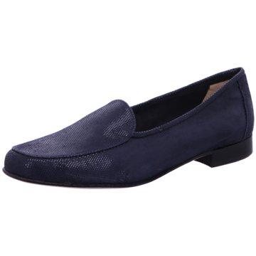 Gabriele Klassischer Slipper blau
