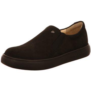 FinnComfort Sportlicher Slipper schwarz