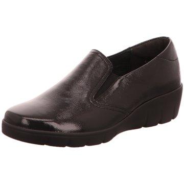 Semler Komfort Slipper schwarz