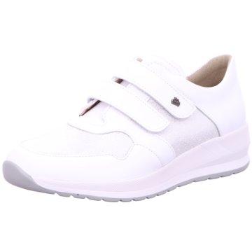FinnComfort Sportlicher Schnürschuh weiß