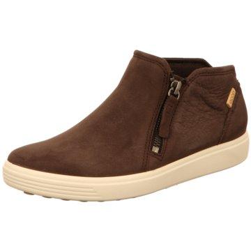 Ecco Sneaker HighSoft 7 Ladies braun
