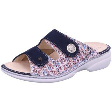FinnComfort Komfort Pantolette05003 902112 blau