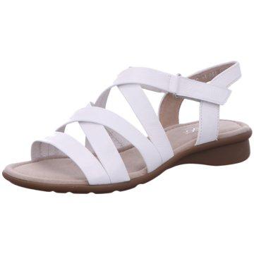 Gabor comfort Sandale weiß