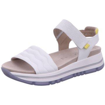 Gabor Komfort Sandale weiß