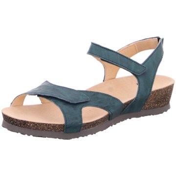 Think Komfort Sandale türkis