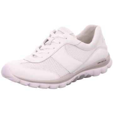 Gabor Sportlicher SchnürschuhRolling Soft weiß