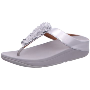 FitFlop Zehentrenner silber
