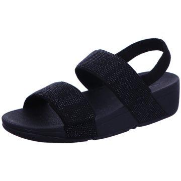 FitFlop Sandale schwarz
