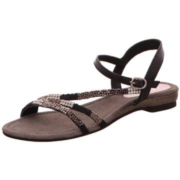 Lazamani Sandale schwarz