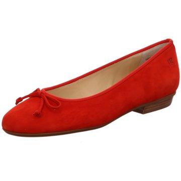 Paul Green Top Trends Ballerinas rot