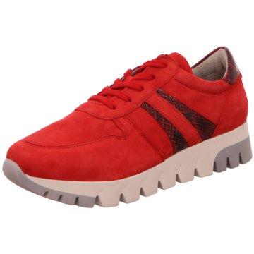 Tamaris Plateau SchnürschuheSneaker rot