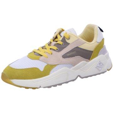 Gant Sneaker Low gelb