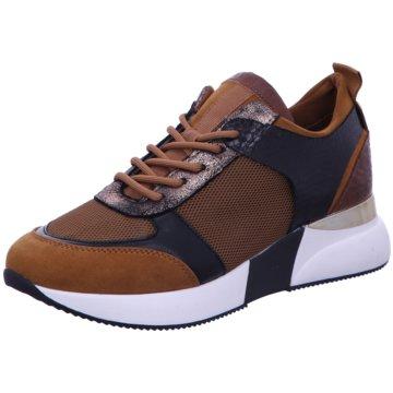 La Strada Plateau SneakerSneaker braun