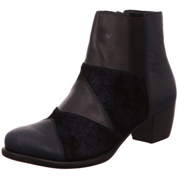 Remonte Klassische Stiefelette schwarz