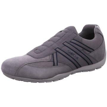 Geox Komfort Slipper grau