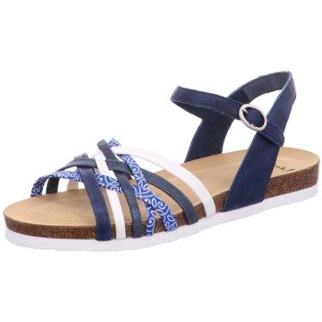 Think Sandale blau