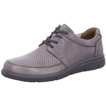 Solidus Komfort Schnürschuh grau