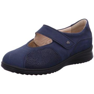 FinnComfort Komfort Slipper blau