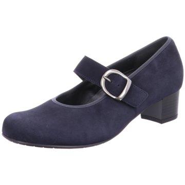 Semler Komfort Pumps blau