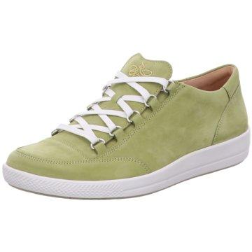 Ganter Komfort Schnürschuh grün
