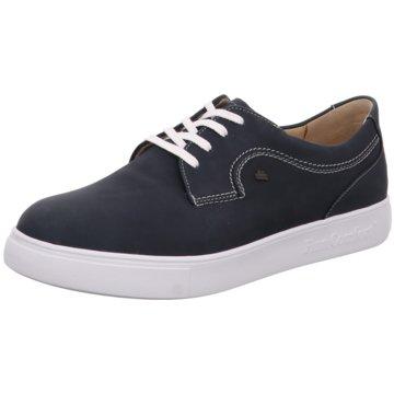 FinnComfort Sportlicher Schnürschuh blau