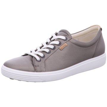 Ecco Sneaker Low silber