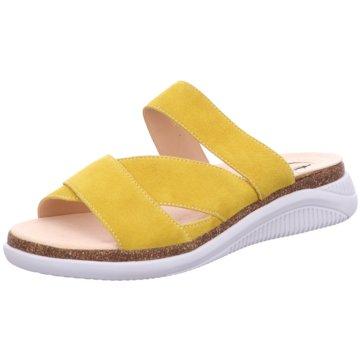 Ganter Klassische Pantolette gelb